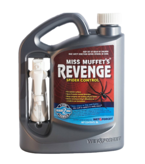 Miss Muffet's Revenge Spider Repellant
