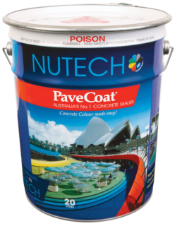 Pavecoat – single pack solvent based acrylic